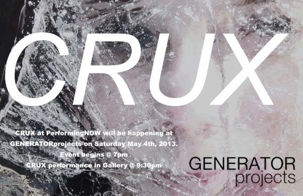 CRUX Generator Flyer